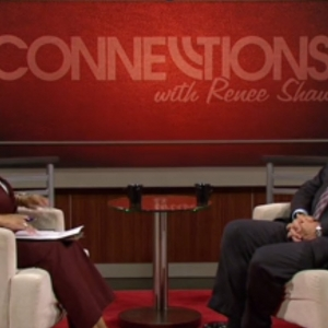 President Michael Benson speaks with KET Connections host Renee Shaw