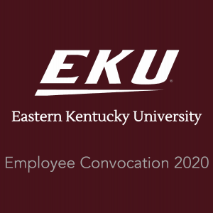 EKU logo. Employee convocation 2020